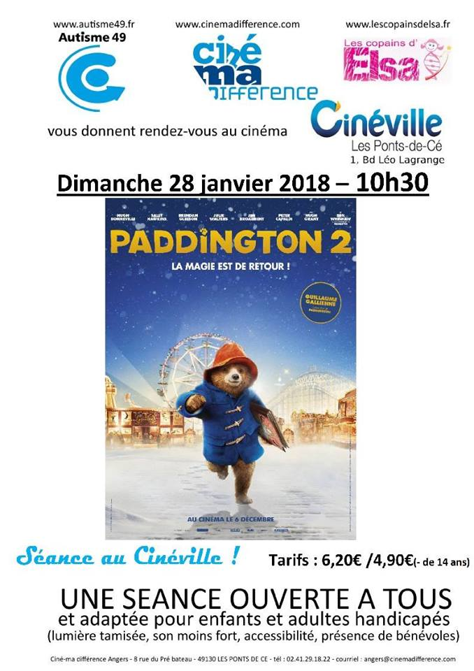 Seance Cinema Differences Paddington 2 Les Copains D Elsa