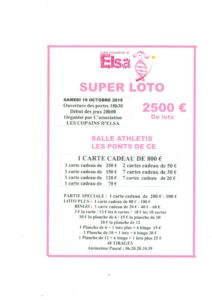 Super Loto @ Salle Athlétis